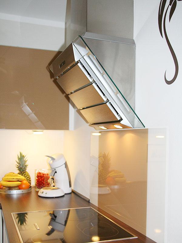 Wandpaneel Küche Glas mit schöne stil für ihr haus design ideen